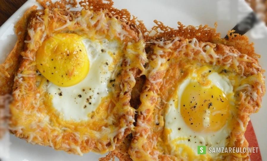 უგემრიელესი ტოსტი ყველით და კვერცხით, რომლის მომზადებაც ძალიან მარტივი და ამავდროულად საკმაოდ სწრაფია.