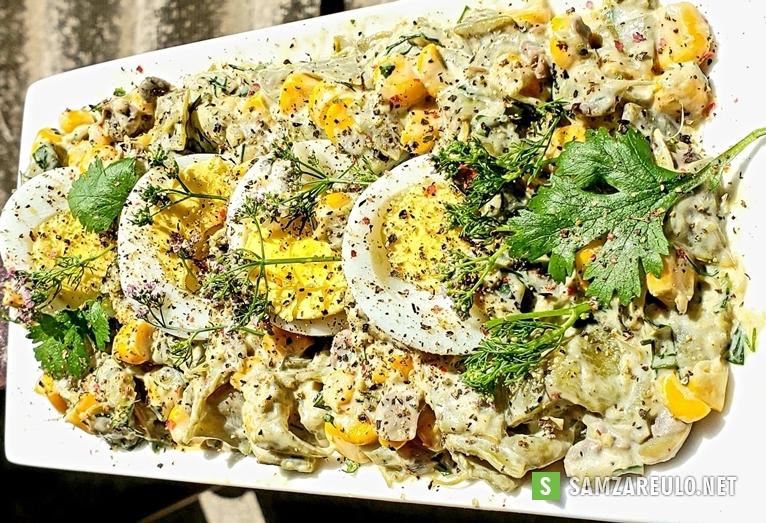 როგორ მოვამზადოთ ძალიან გემრიელიმწვანე ლობიოს სალათი.