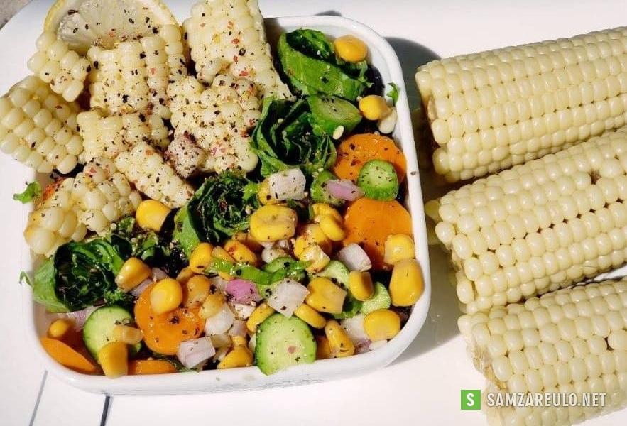 როგორ მოვამზადოთ სიმინდის სალათი.