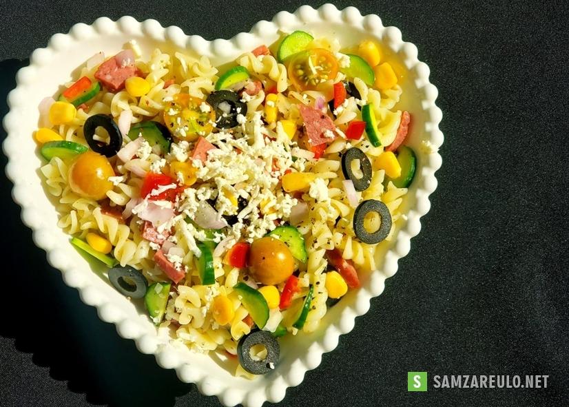 როგორ მოვამზადოთმაკარონის სალათი.